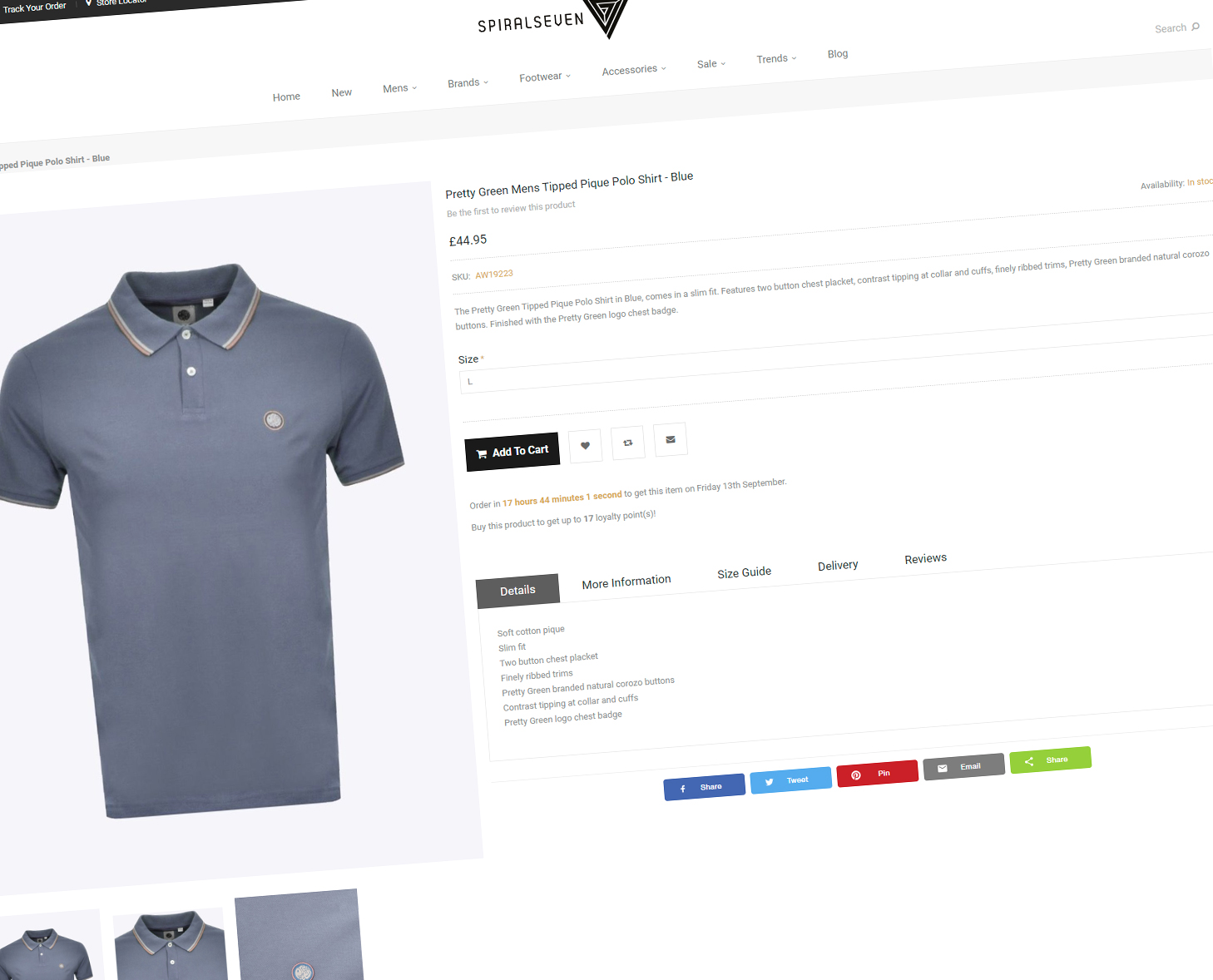 Spiral Seven Product Page