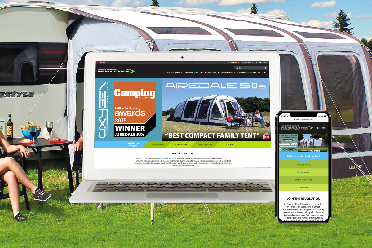 Outdoor Revolution - Magento E-Commerce