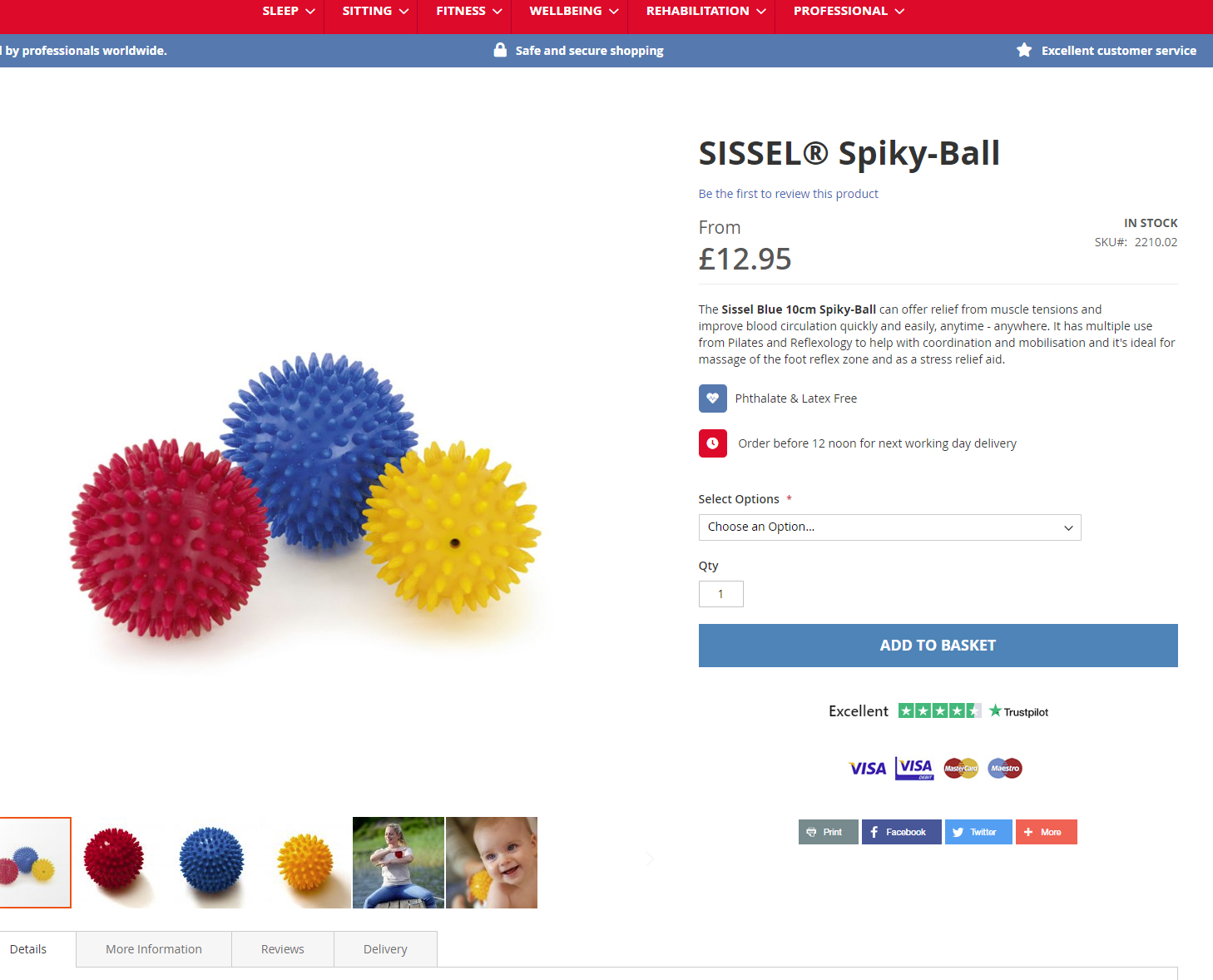 Sissel Product Page