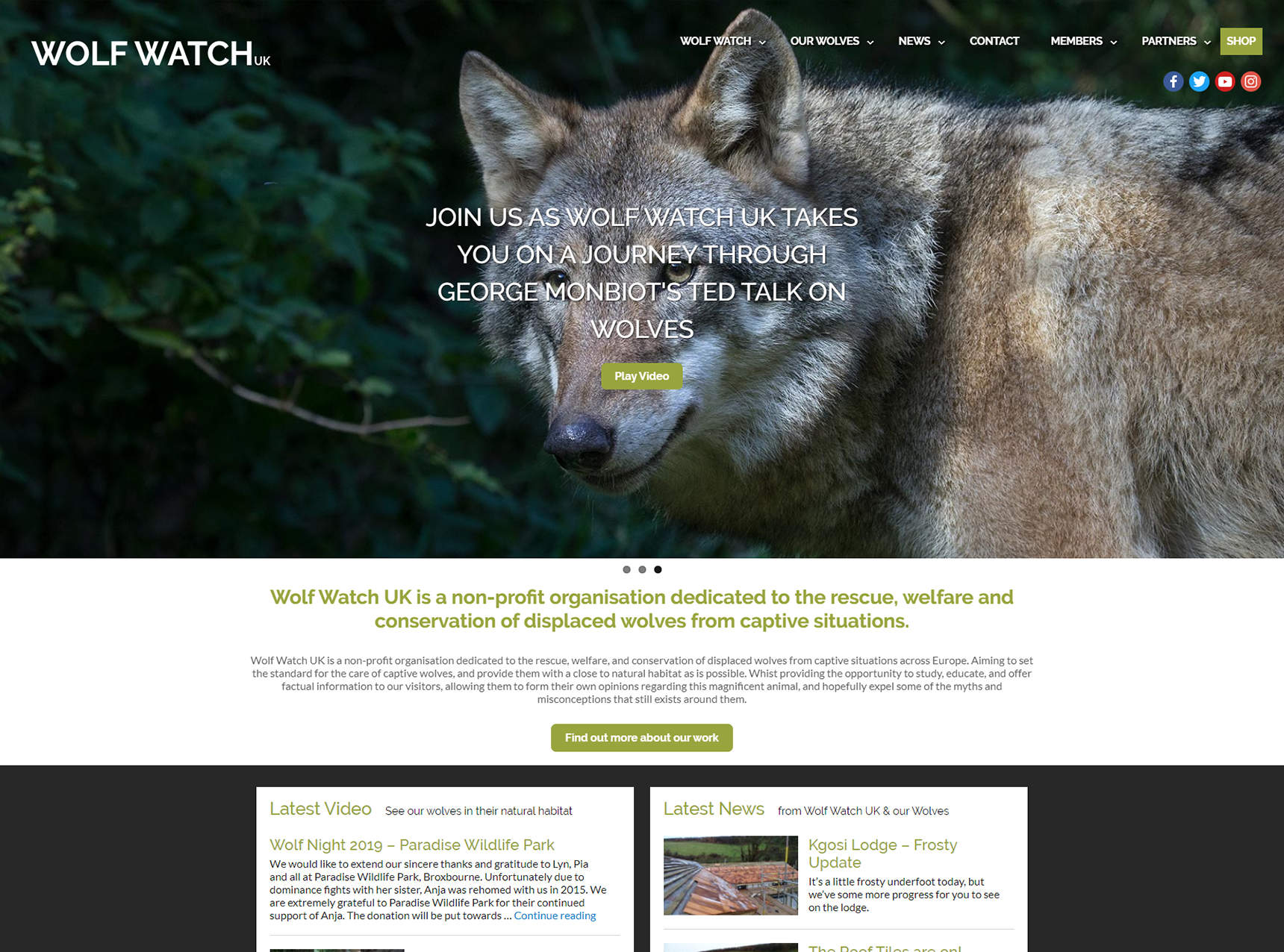 Wolf Watch UK Website