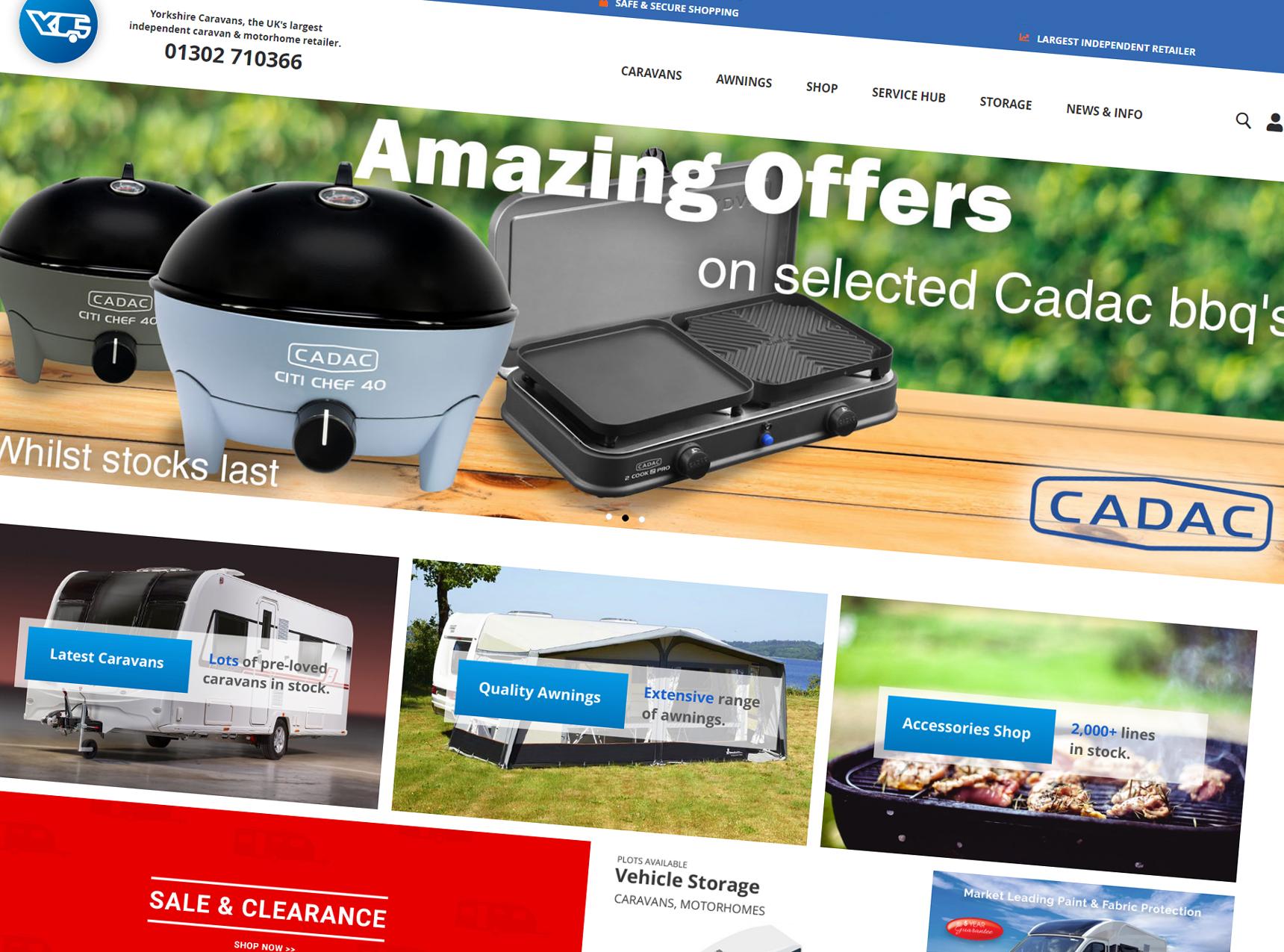 Yorkshire Caravans Homepage