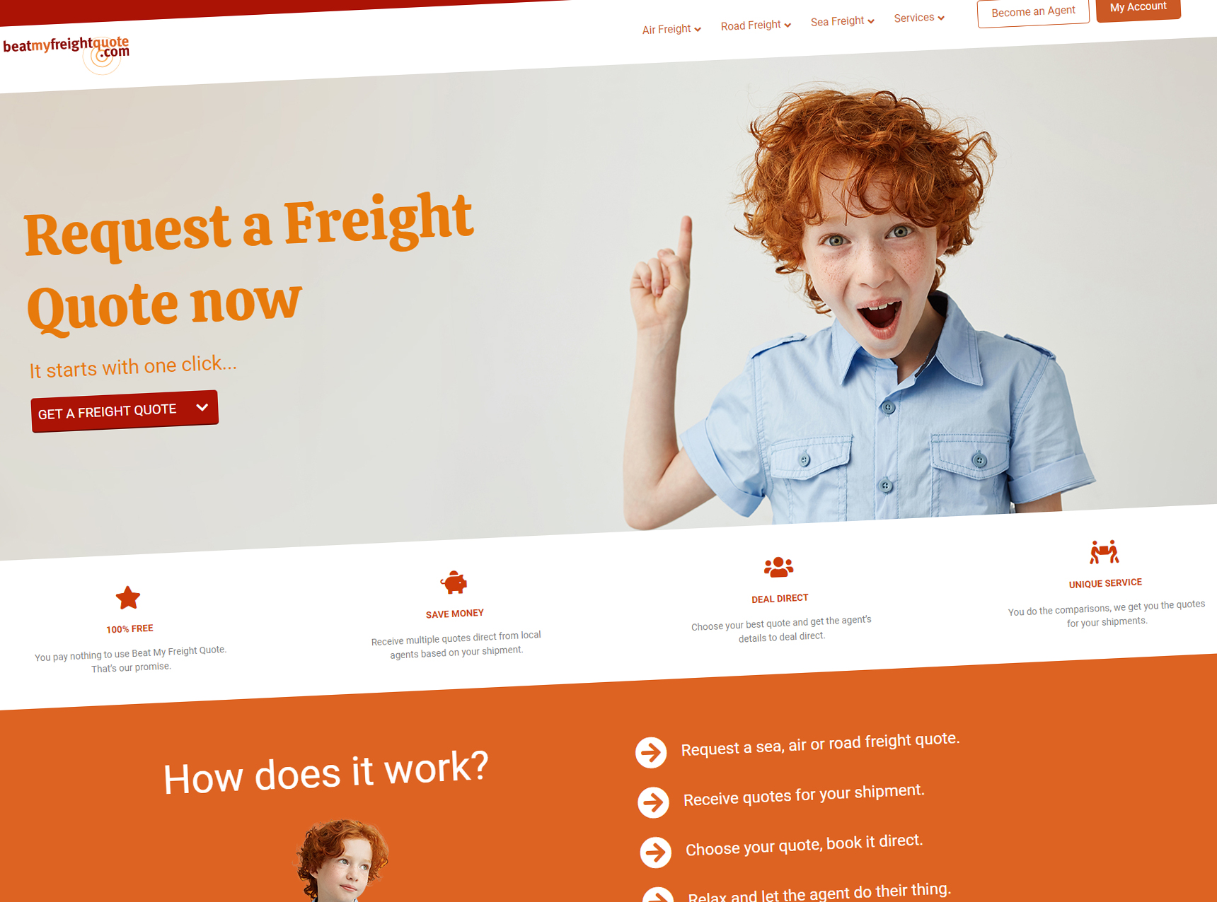 Beat My Freight Quote Website