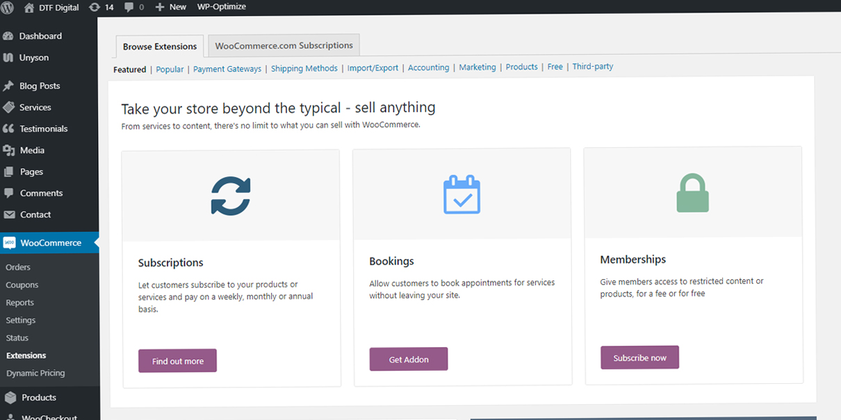 WooCommerce Website Designers