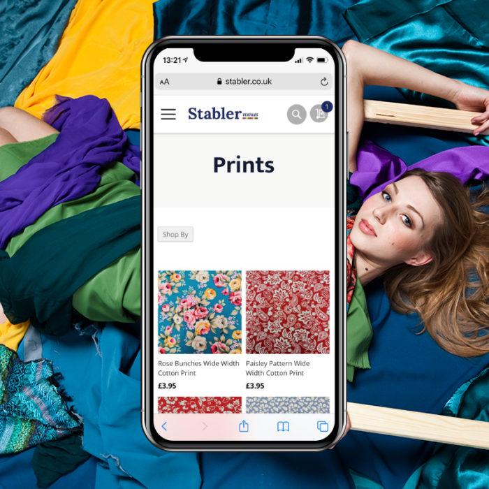 Stabler Textiles Mobile Optimisation