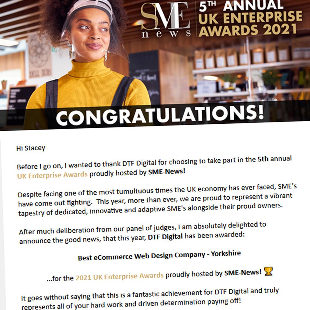 SME News Award Winner